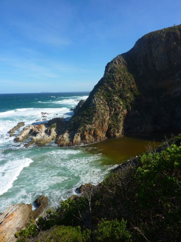 Bloukrans River Mouth.