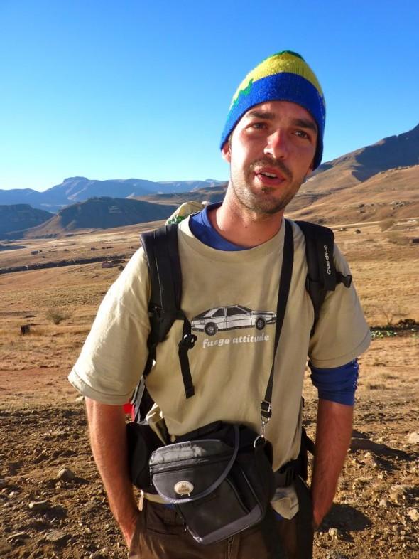Nicolas Lepoutre, life outside the comfort zone, Lesotho.