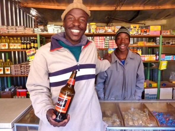 Black Label beer, St. Theresa, Lesotho.