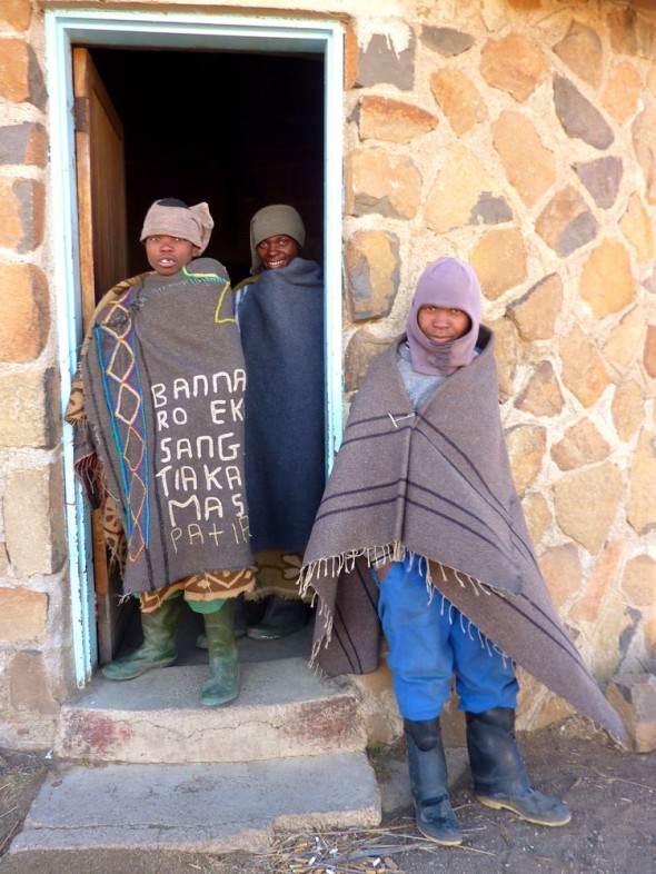 Cool kids never had the time, Lesotho.