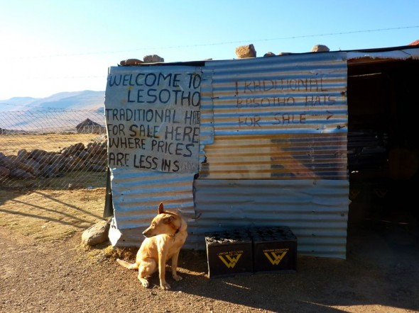 Bow Wow felt right at home, Lesotho.