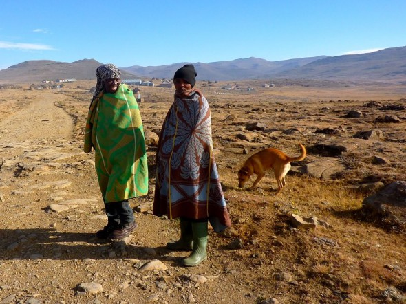 Exploring with Bow Wow, Lesotho.