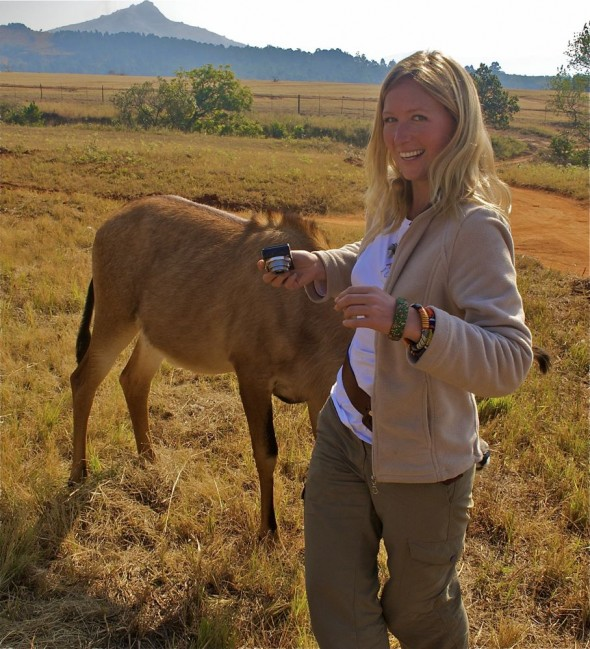 Hanging out with Lucie from The Vagabond Adventures. Mlilwane Wildlife Sanctuary, Swaziland.