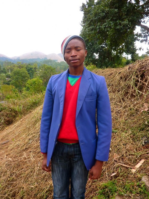 Well turned out but late for church! Bulembu, Swaziland.