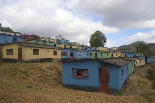 Like giant Lego blocks scattered on the hillside. Bulembu, Swaziland.