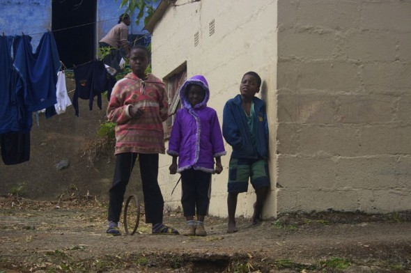 An entire generation has been wiped out leaving thousands of vulnerable children to fend for themselves. Bulembu, Swaziland.