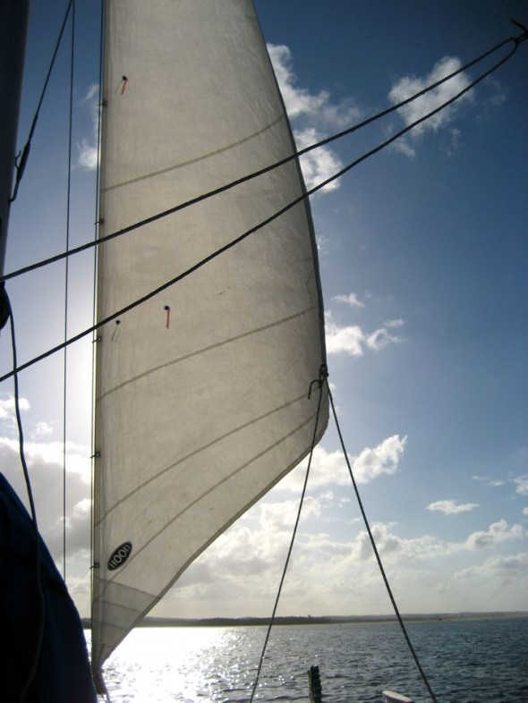 """""""Throw off the bowlines. Sail away from the safe harbor. Catch the trade winds in your sails. Explore. Dream. Discover."""" (Mark Twain) Pomene, Mozambique."""
