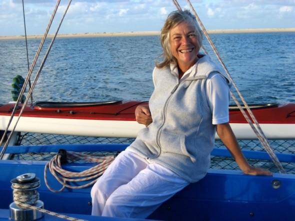 Captain Pat. Pomene, Mozambique.