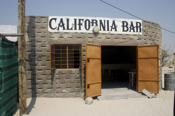 California Bar. Bar / Shebeen on the C46 Highway between Ruacana and Oshakati, Namibia.