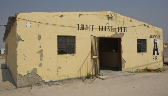 Light House Pub. Bar / Shebeen on the C46 Highway between Ruacana and Oshakati, Namibia.