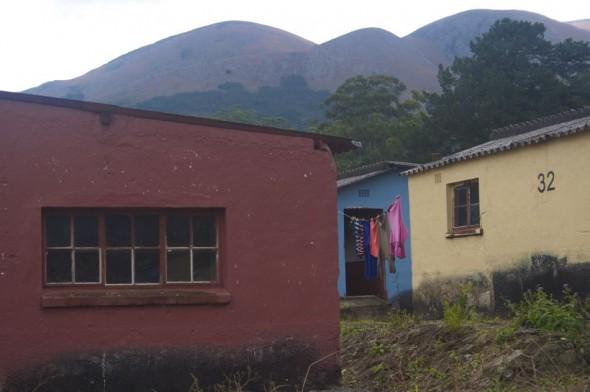 ...textures and juxtapositions. Bulembu, Swaziland.