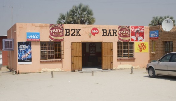 B2K Bar. Bar / Shebeen on the C46 Highway between Ruacana and Oshakati, Namibia.