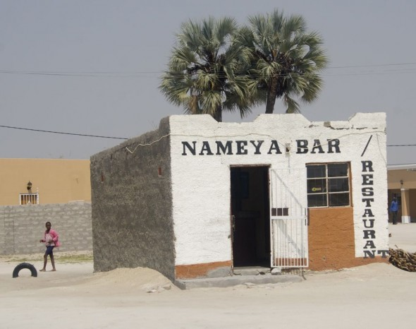 Nameya Bar. Bar / Shebeen on the C46 Highway between Ruacana and Oshakati, Namibia.