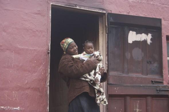 A Bulembu baby. Bulembu, Swaziland.