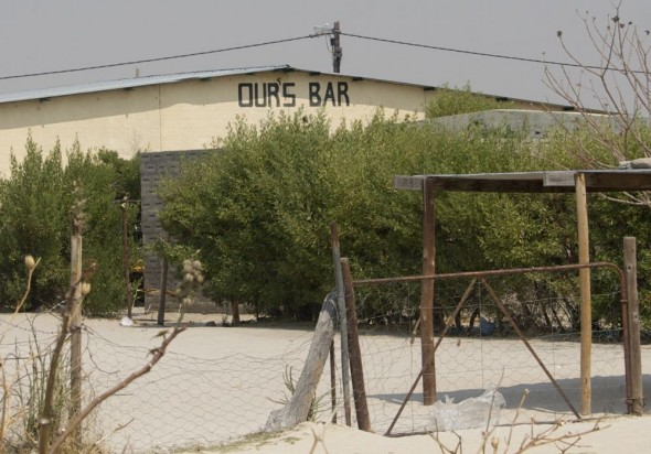 Ours Bar. Bar / Shebeen on the C46 Highway between Ruacana and Oshakati, Namibia.