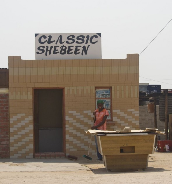 'Classic' Shebeen. Bar / Shebeen on the C46 Highway between Ruacana and Oshakati, Namibia.