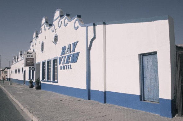 Bay View hotel. Lüderitz, Namibia.