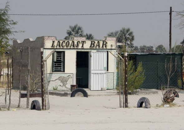 LA Coast Bar. Bar / Shebeen on the C46 Highway between Ruacana and Oshakati, Namibia.