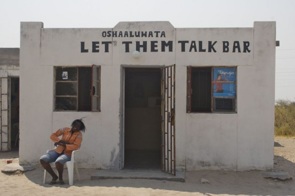 Let Them Talk Bar - Oshaaluwata. Bar / Shebeen on the C46 Highway between Ruacana and Oshakati, Namibia.