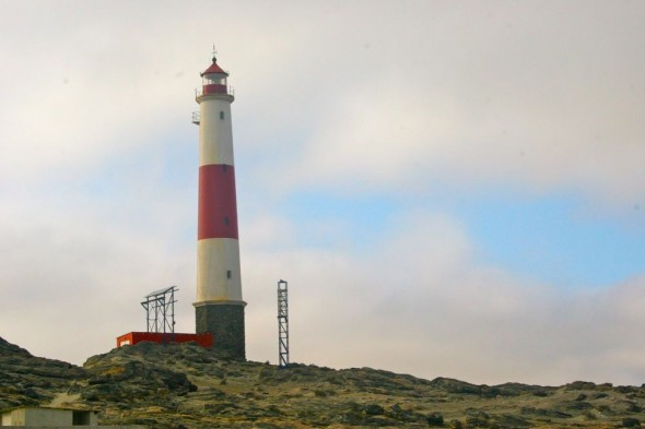 Lighthouse at Dias Point, Lüderitz, Namibia.