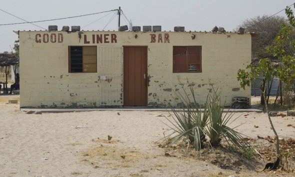Good Liner Bar. Bar / Shebeen on the C46 Highway between Ruacana and Oshakati, Namibia.