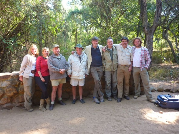 The whole gang! Mkhaya Game Reserve, Swaziland.
