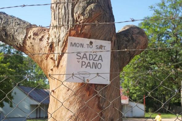 Sadza n Pano, Rusape, Zimbabwe.