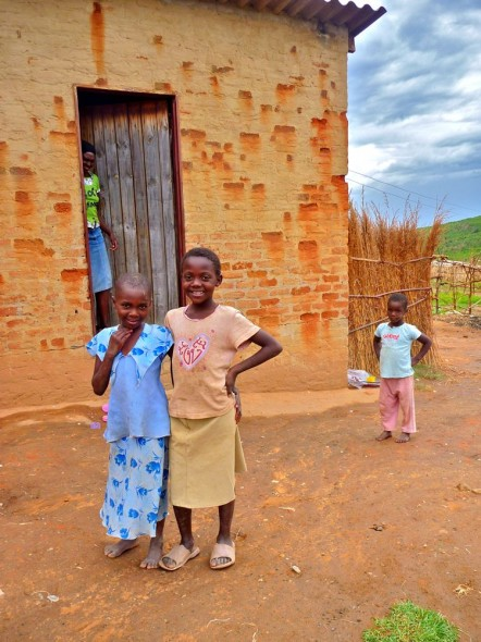 Some children in Nyanga, Zimbabwe.