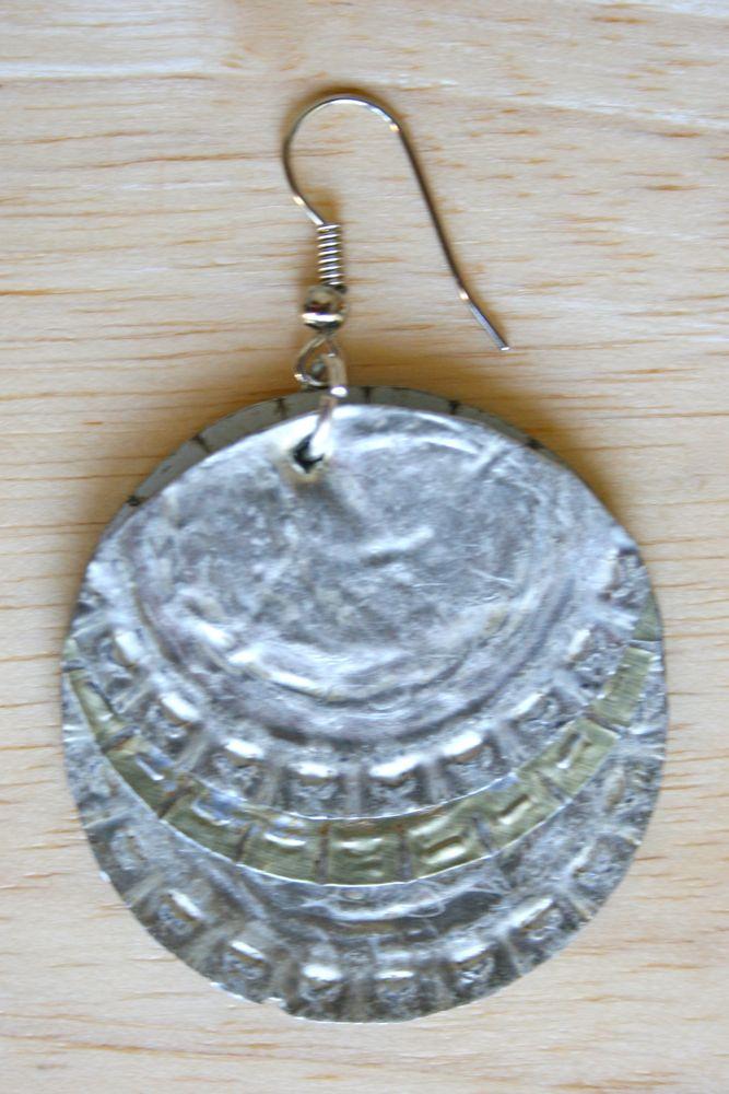 Bottle Cap Earrings from VagabondVan.com