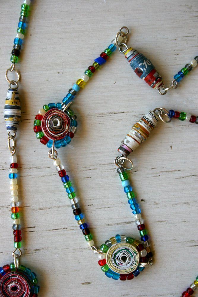Candy Chain Necklaces from VagabondVan.com