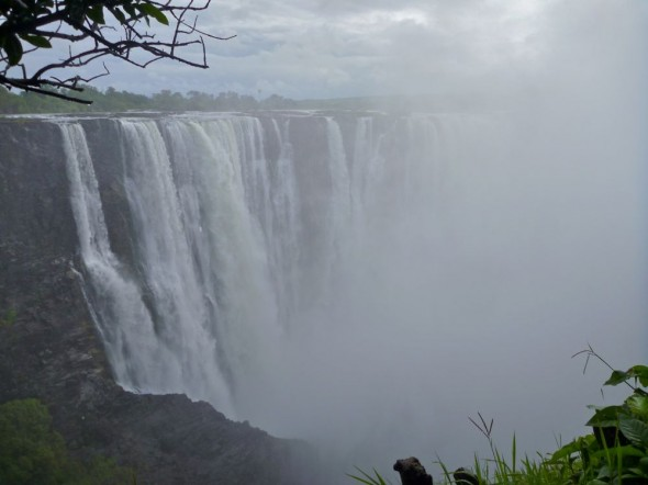 The Victoria Falls, Zimbabwe