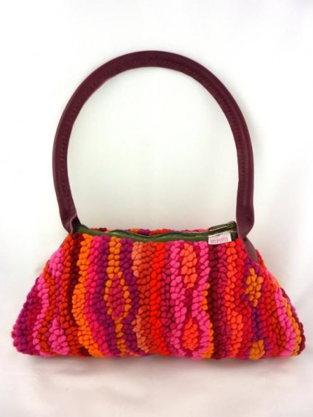Small Mielie Bag with Leather Handles Vagabond Van