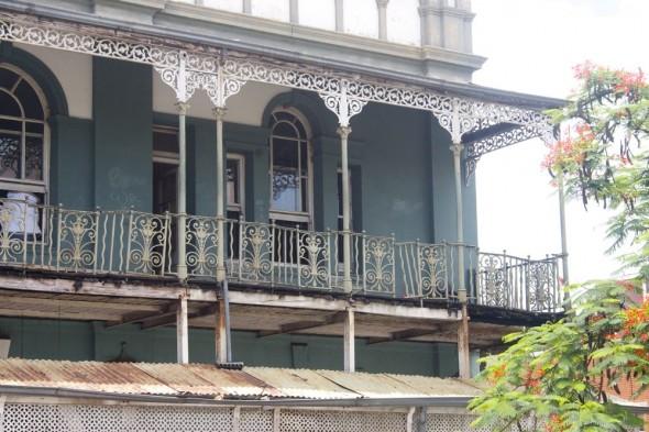 Victorian building in Bulawayo, Zimbabwe