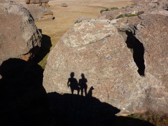 The Vagabond Adventurers shadows - Lucie, Lachlan & Bow Wow