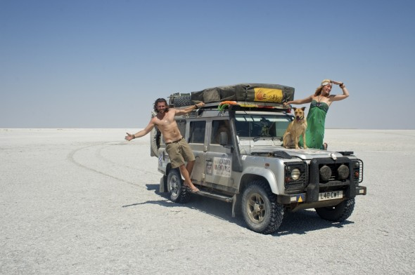 The Vagabond Adventures at the Makgadikgadi Pans, Botswana.