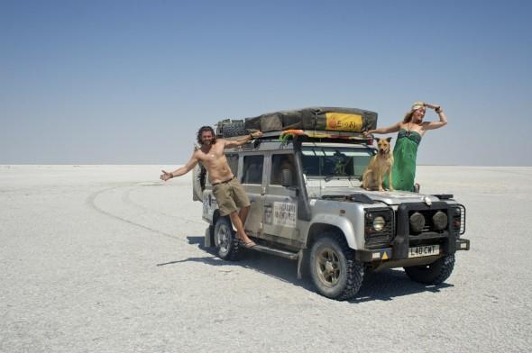 The Vagabond Adventures at the Makgadikgadi Pans, Botswana.