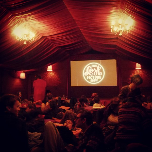 Inside The Lost Picture Cinema at Shambala Festival 2012
