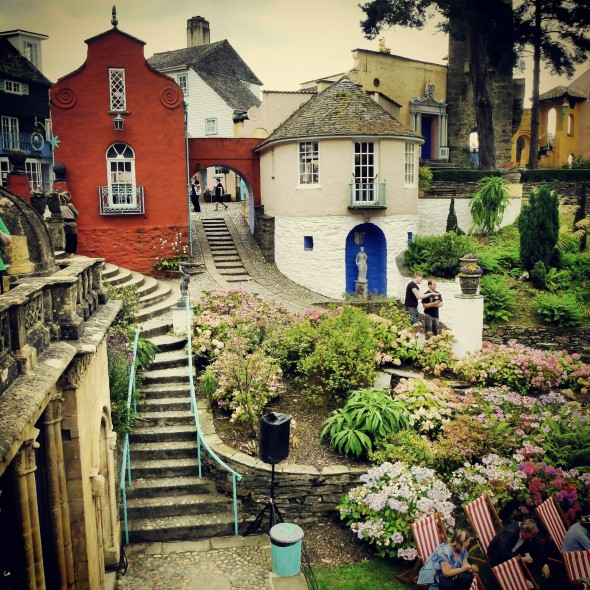 Mediterranean inspired architecture of Portmeirion Wales